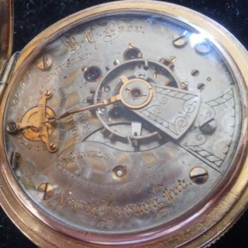 Illinois Grade 65 Pocket Watch Image