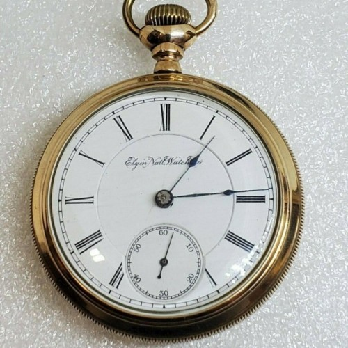Elgin Grade 77 Pocket Watch Image