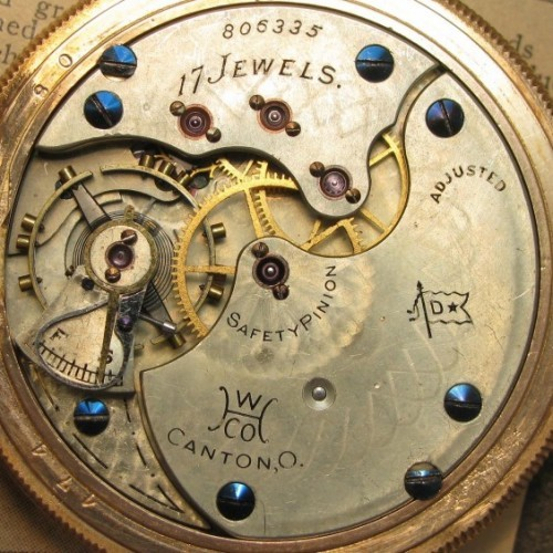 Hampden Grade No. 107 Pocket Watch Image
