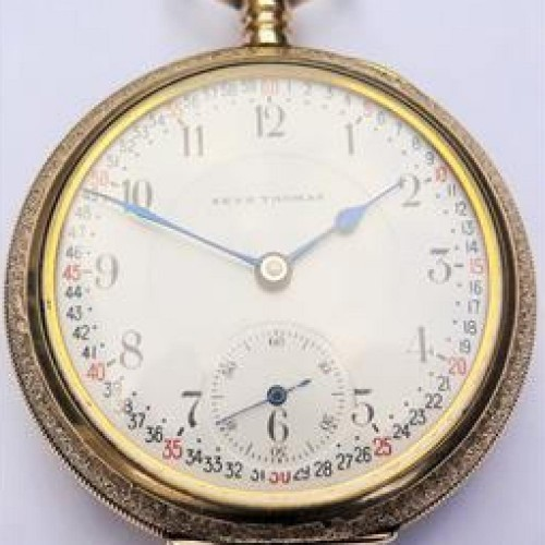 Seth Thomas Grade 281 Pocket Watch Image