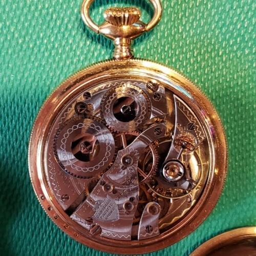 Waltham Grade Canadian Pacific Railway Pocket Watch Image
