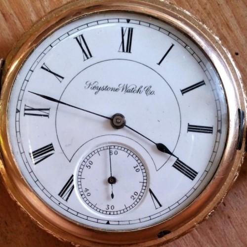 Image of Keystone Standard Watch Co.  #368859 Dial