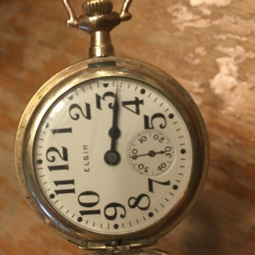Elgin Grade 320 Pocket Watch Image
