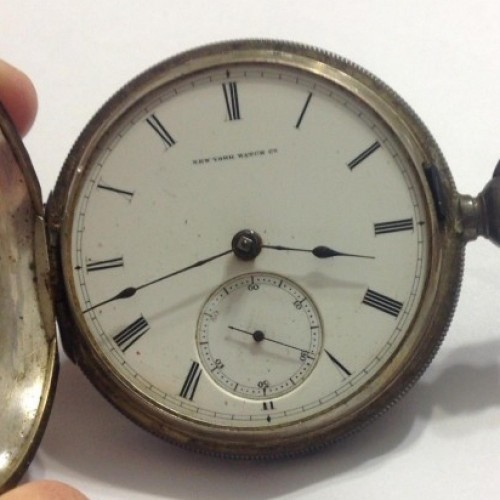 New York Watch Manufacturing Co. Grade  Pocket Watch Image