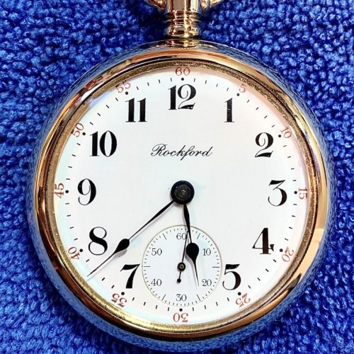 Rockford Grade 935 Pocket Watch Image