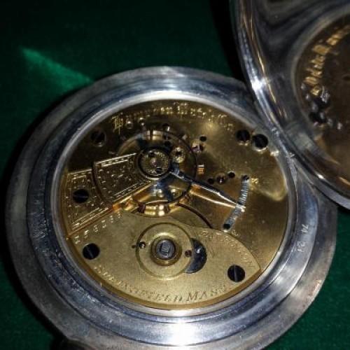 Hampden Grade Springfield Pocket Watch Image