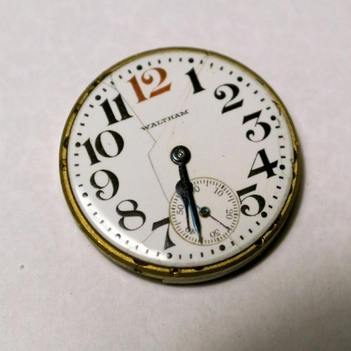 Waltham Grade No. 364 Pocket Watch Image