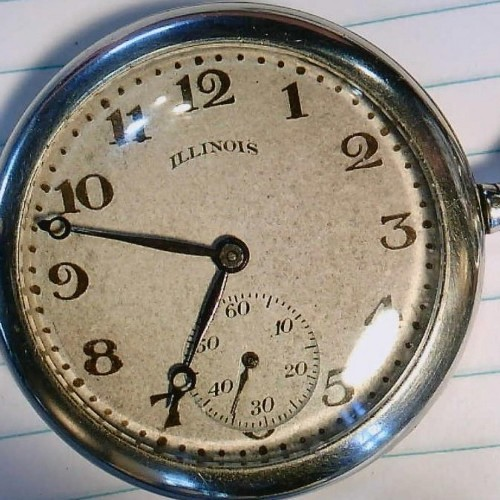 Illinois Grade 275 Pocket Watch Image