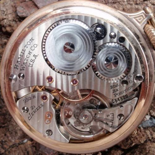 Image of Hamilton 992B #C84800 Movement
