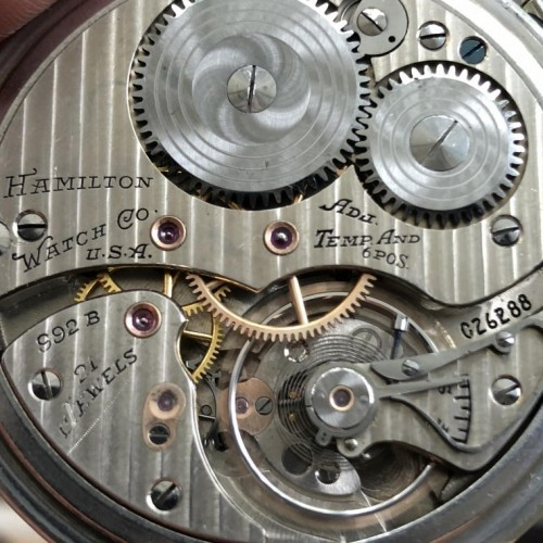 Image of Hamilton 992B #C26288 Movement