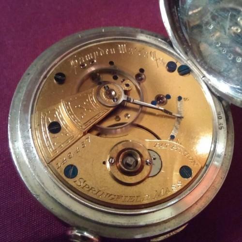 Hampden Grade No. 33 Pocket Watch Image