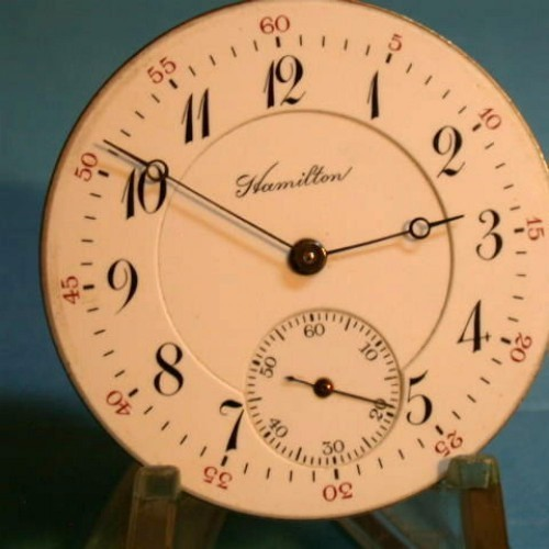 Hamilton Grade 971 Pocket Watch Image