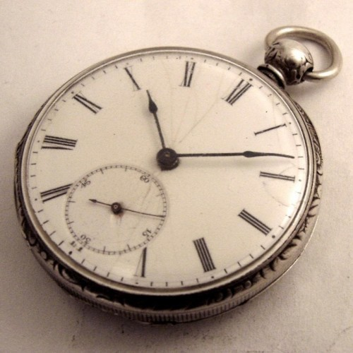Swiss Imports Grade Courant Pocket Watch Image