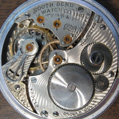 South Bend Grade 212 Pocket Watch