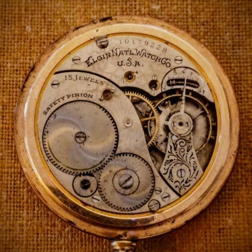 Elgin Grade 260 Pocket Watch Image