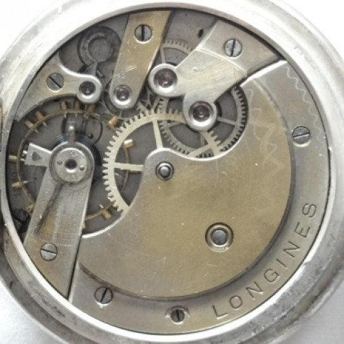 Longines Grade 18.50 Pocket Watch Image
