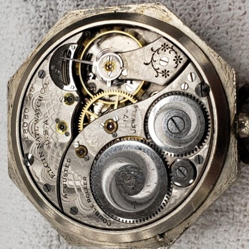 Elgin Grade 384 Pocket Watch Image