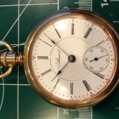 Illinois Grade 57 Pocket Watch Image