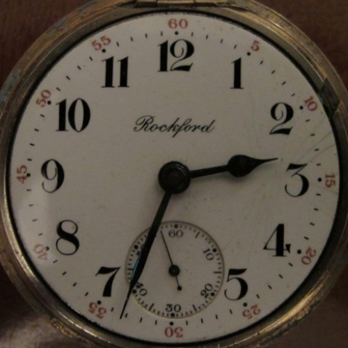 Rockford Grade 938 Pocket Watch Image