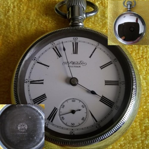 U.S. Watch Co. (Waltham, Mass) Grade 97 Pocket Watch Image