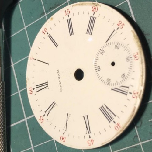 Image of Waltham No. 81 #11312212 Dial