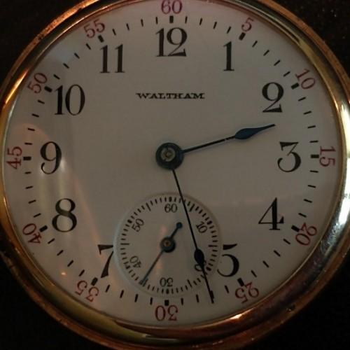 Waltham Grade No. 165 Pocket Watch Image