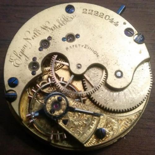 Elgin Grade 66 Pocket Watch Image