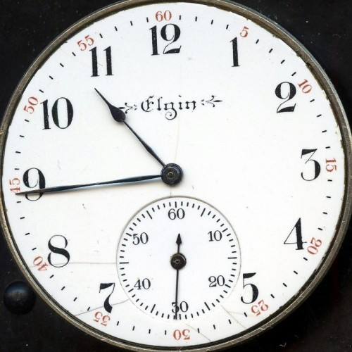 Elgin Grade 260 Pocket Watch Image