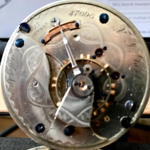 Aurora Watch Co. Grade  Pocket Watch Image