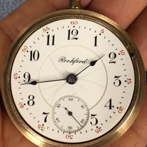 Rockford Grade 925 Pocket Watch Image
