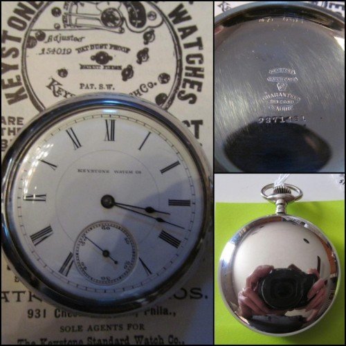 Keystone Standard Watch Co. Grade Dust Proof Pocket Watch