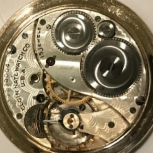 Elgin Grade 314 Pocket Watch Image