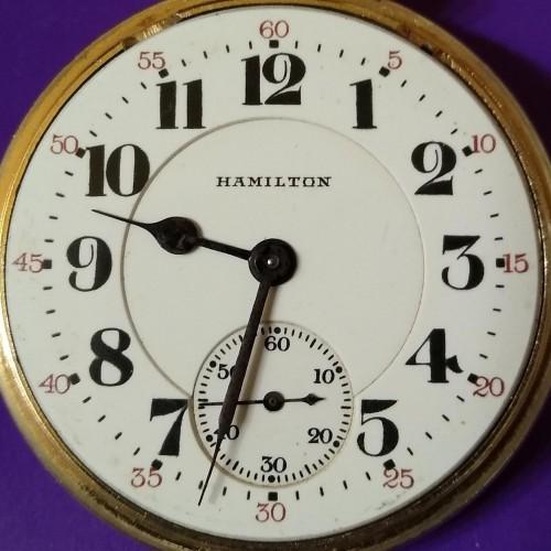 Hamilton Grade 990 Pocket Watch