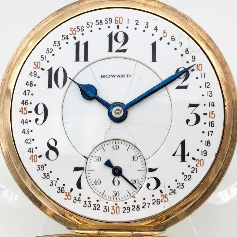 Image of E. Howard Watch Co. (Keystone) Series 3 #892750 Dial