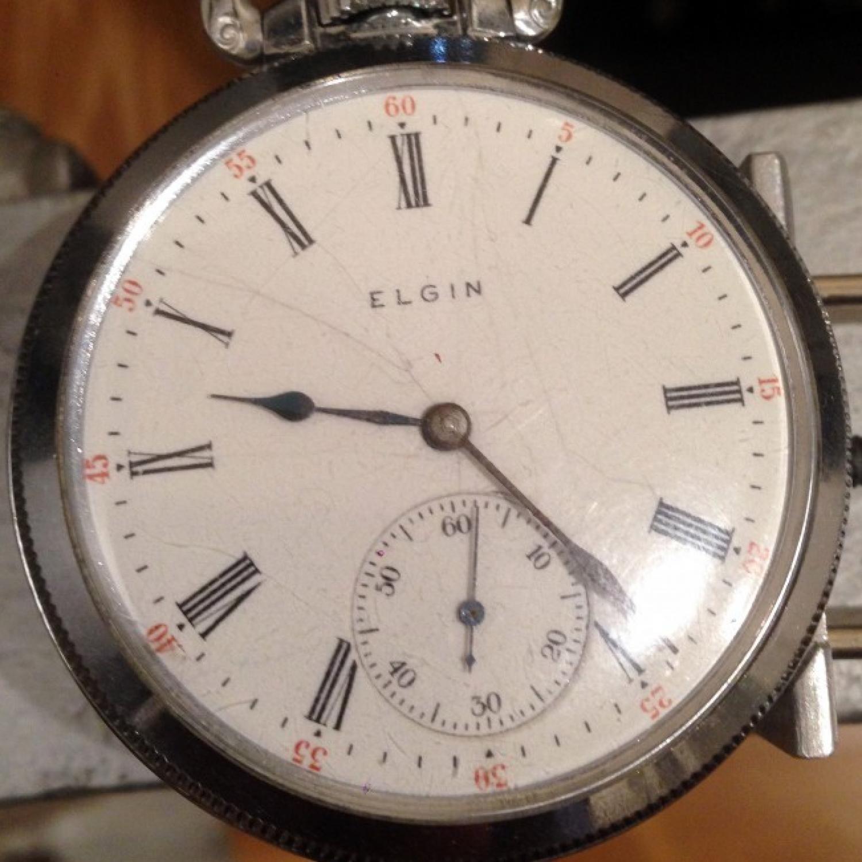 Image of Elgin 382 #19643285 Dial
