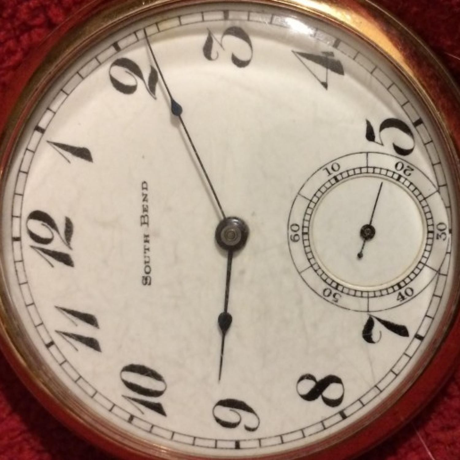 Image of South Bend 207 #616717 Dial