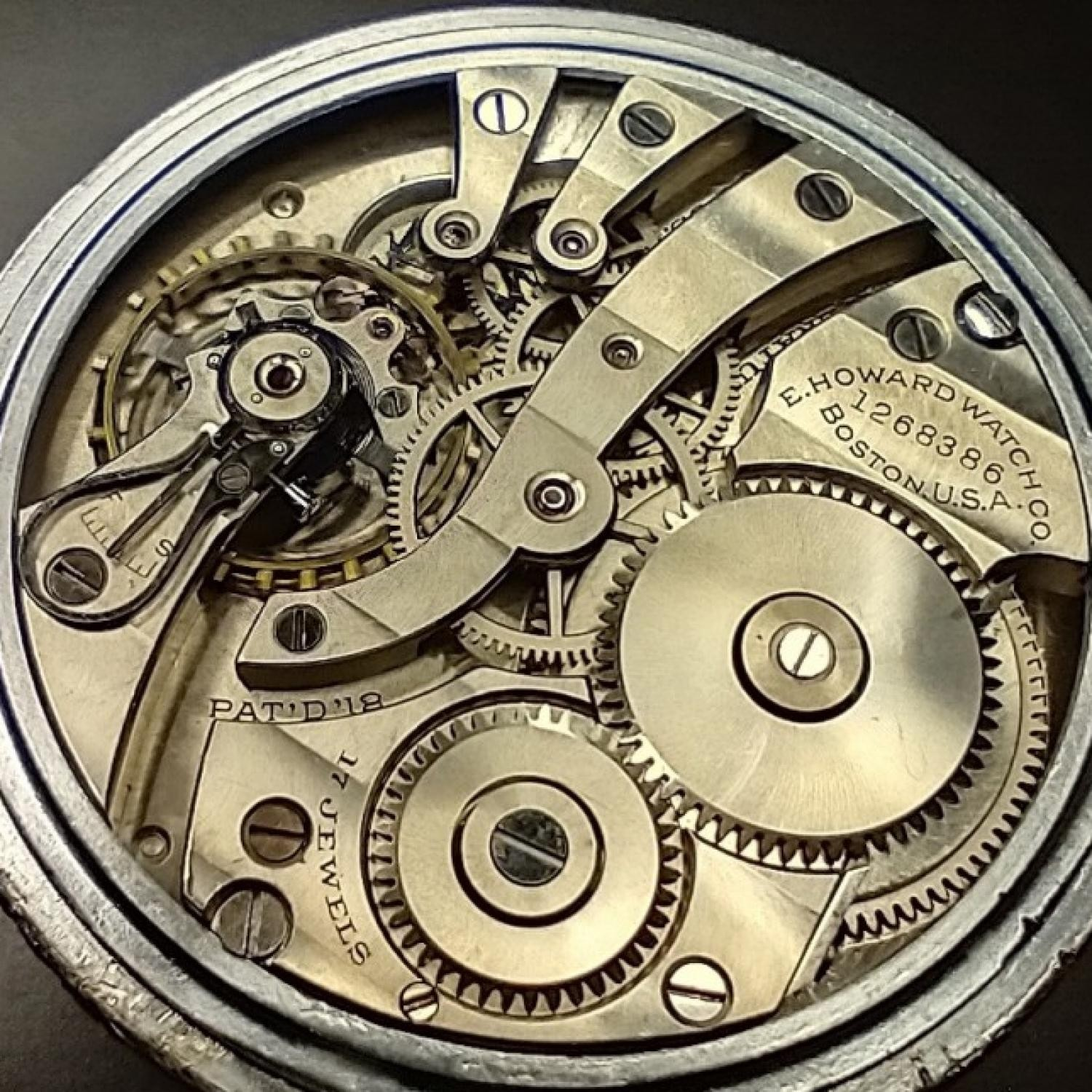 Image of E. Howard Watch Co. (Keystone) Series 7 #1268386 Movement