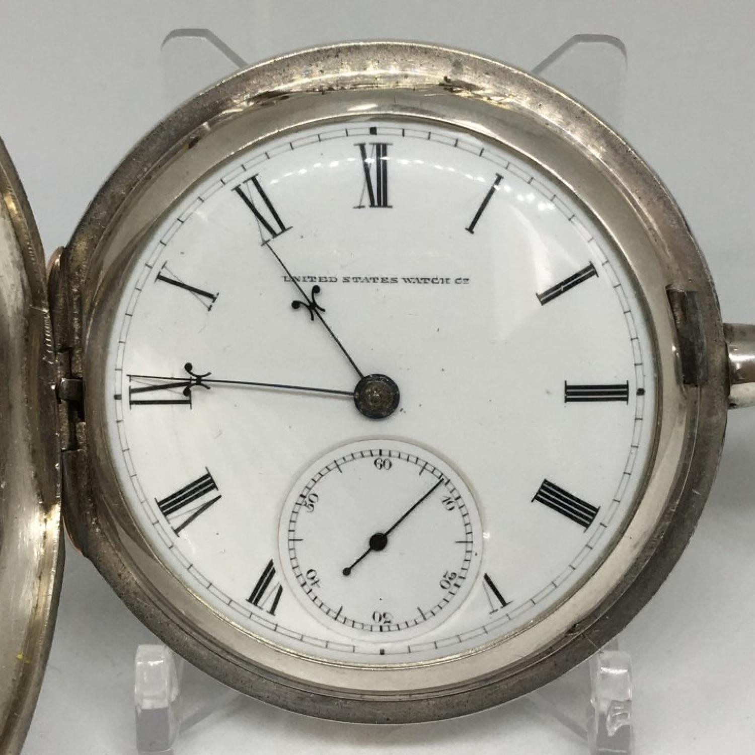 Image of U.S. Watch Co. (Marion, NJ) George Channing #15267 Dial