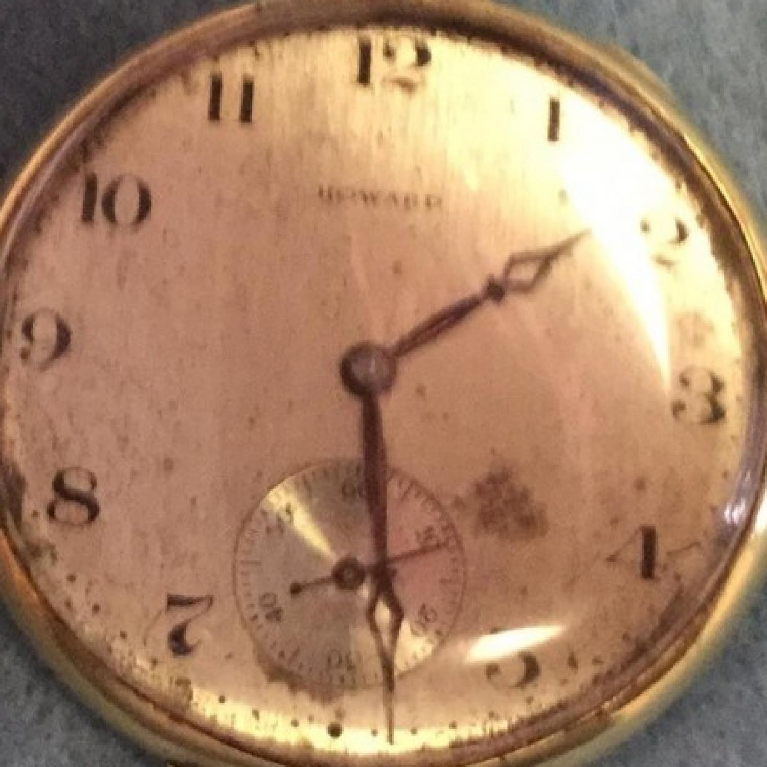 Image of E. Howard Watch Co. (Keystone) Series 7 #1302623 Dial