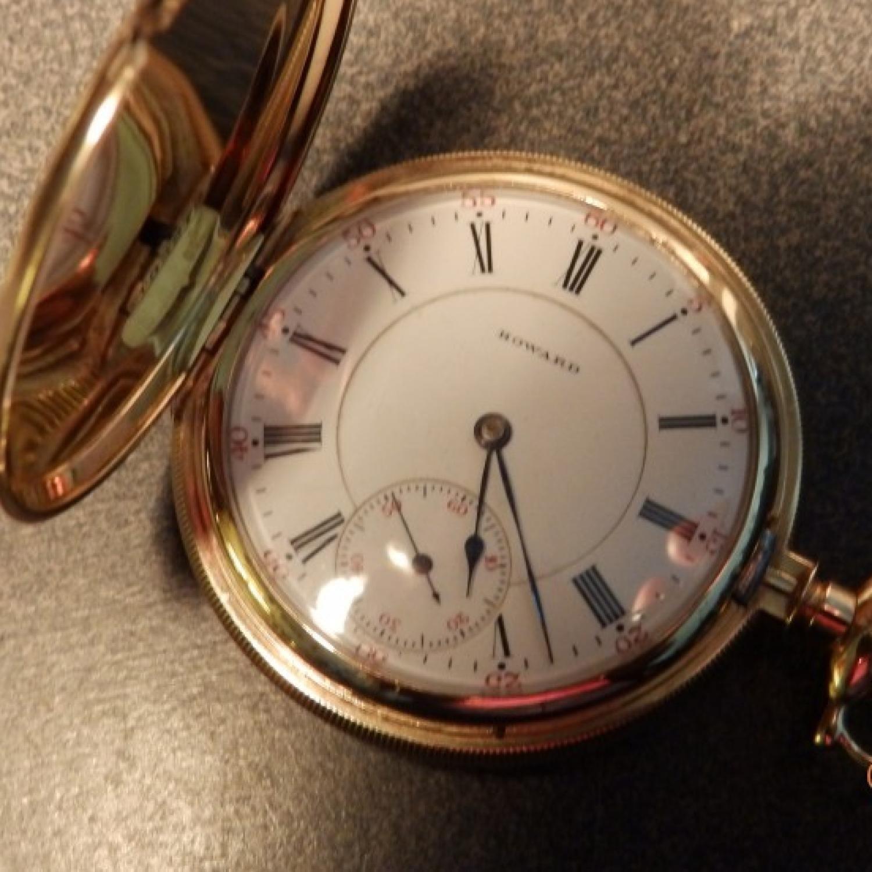 Image of E. Howard Watch Co. (Keystone) Series 2 #914169 Dial