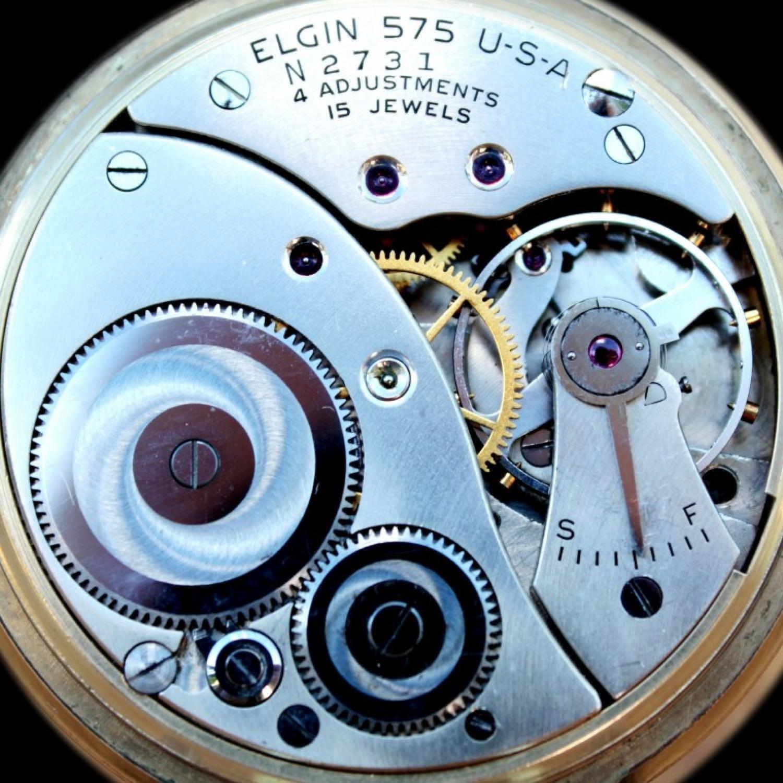 Image of Elgin 575 #N2731 Movement