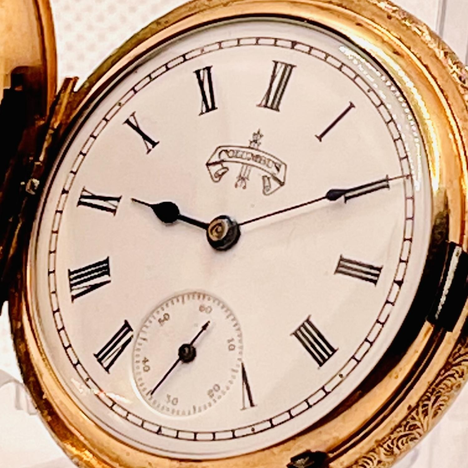 Image of Columbus Watch Co. Unknown #239231 Dial