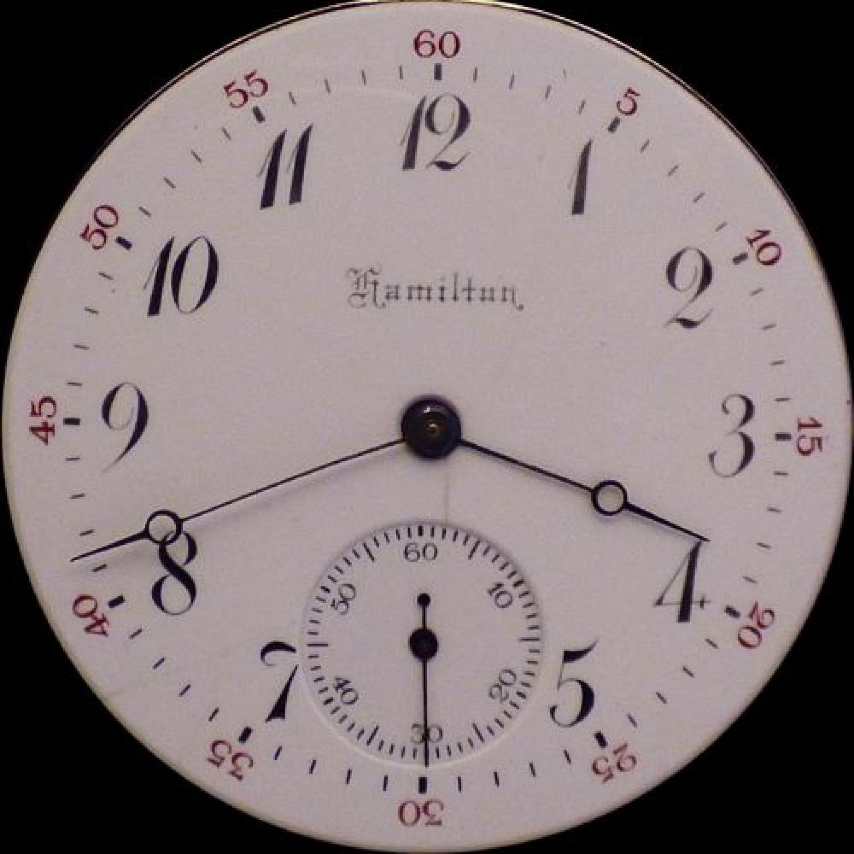 Image of Hamilton 972 #724847 Dial