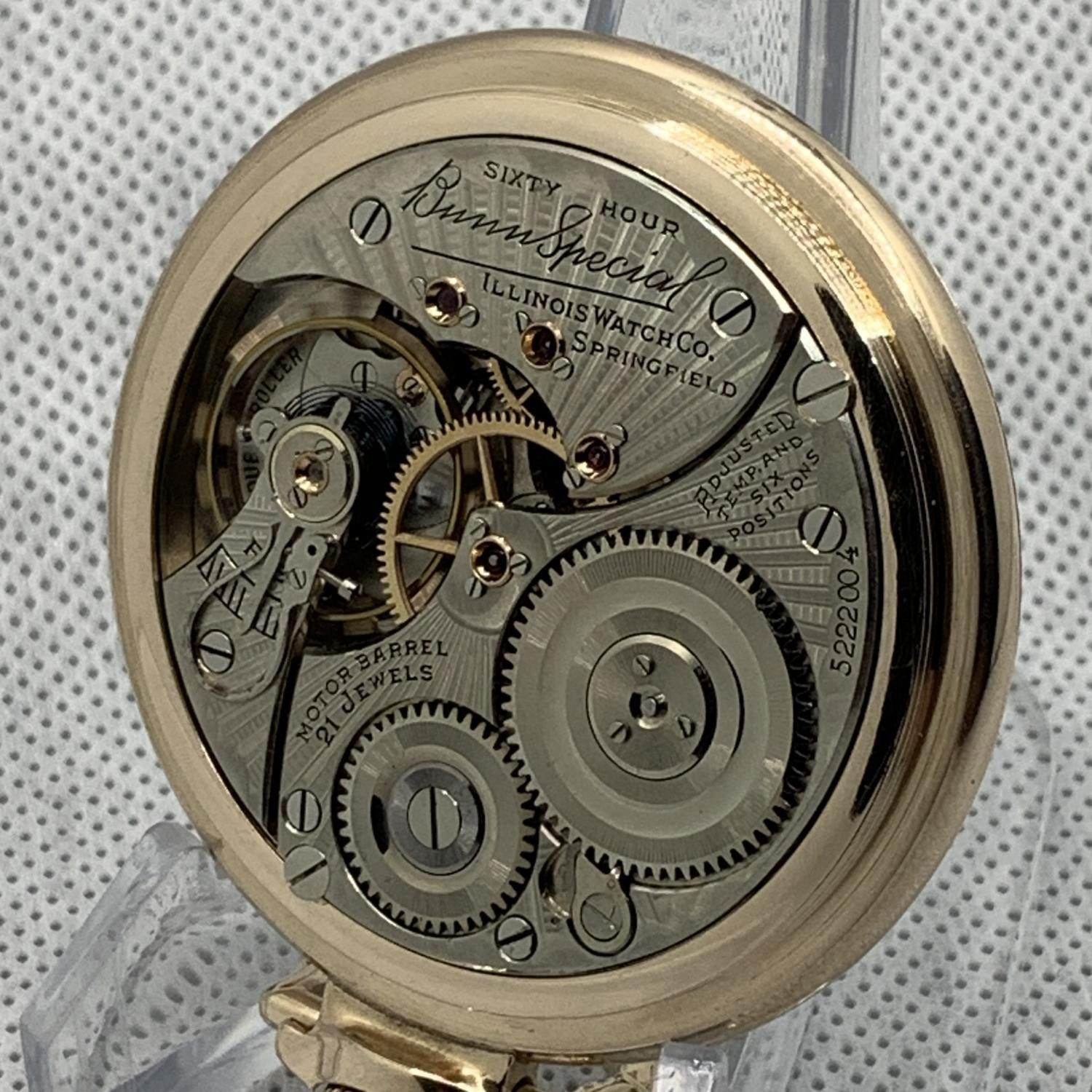 Image of Illinois Bunn Special #5222004 Movement