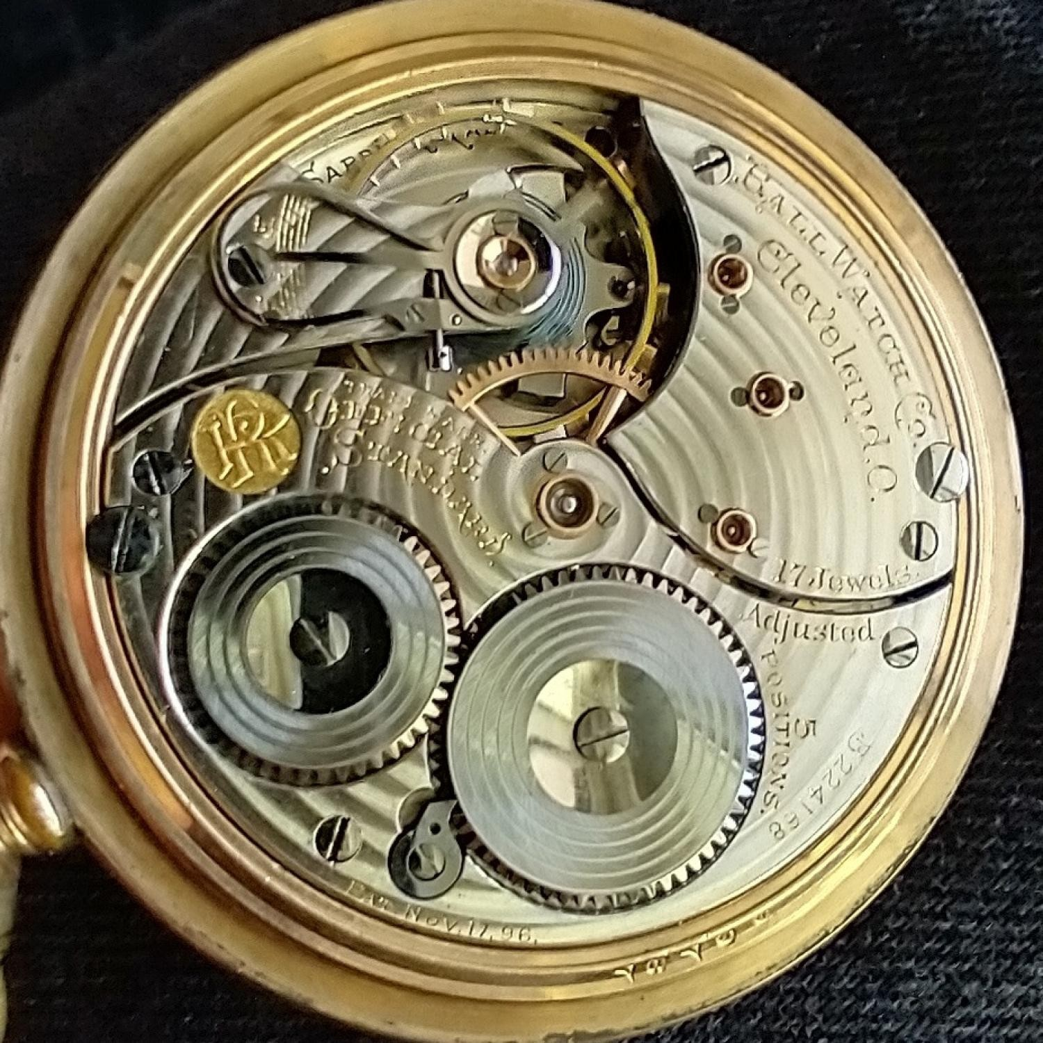 Image of Ball - Waltham Official Standard #B224168 Movement