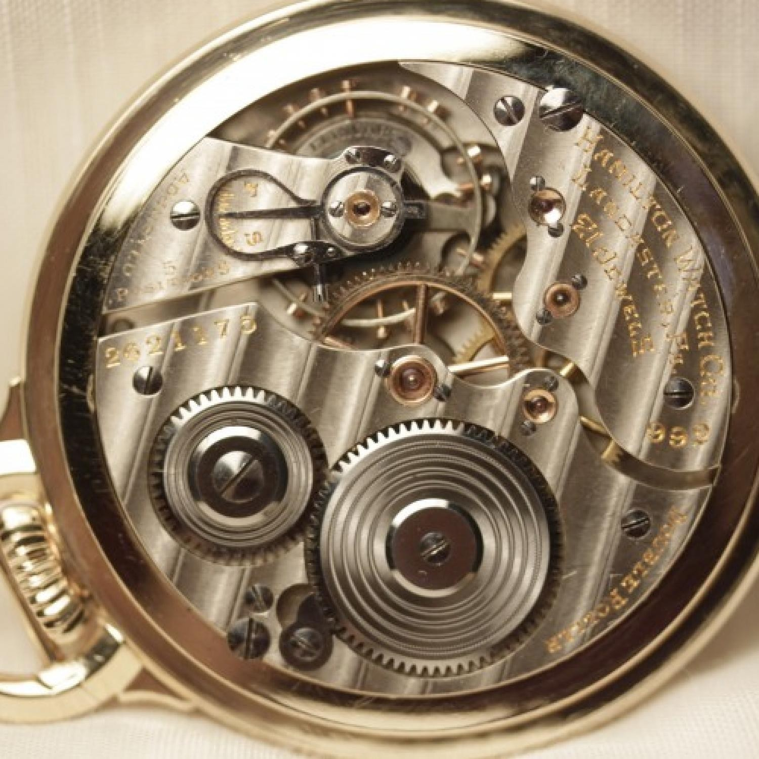 Image of Hamilton 992E #2621175 Movement
