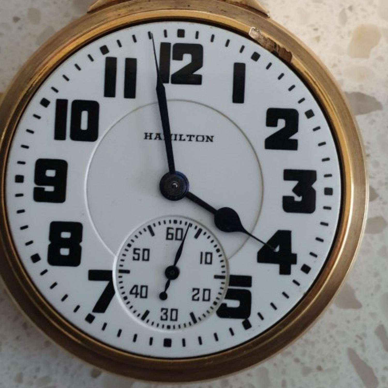 Image of Hamilton 992E #2629840 Dial