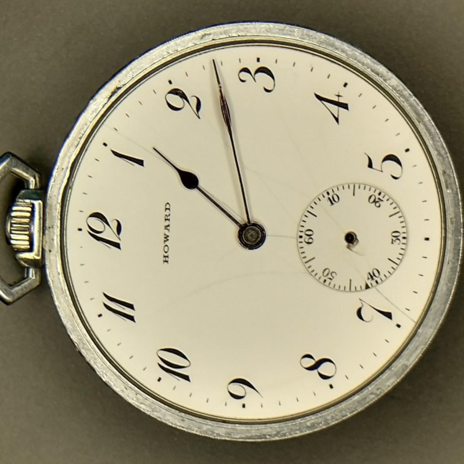 Image of E. Howard Watch Co. (Keystone) Series 7 #1268386 Dial
