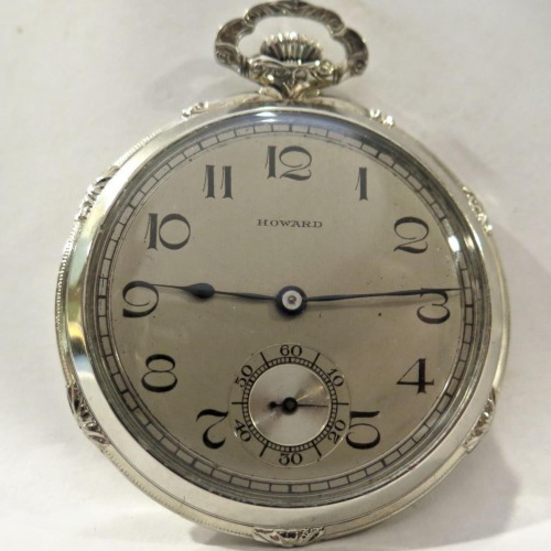 Image of E. Howard Watch Co. (Keystone) Series 12 #24111 Dial
