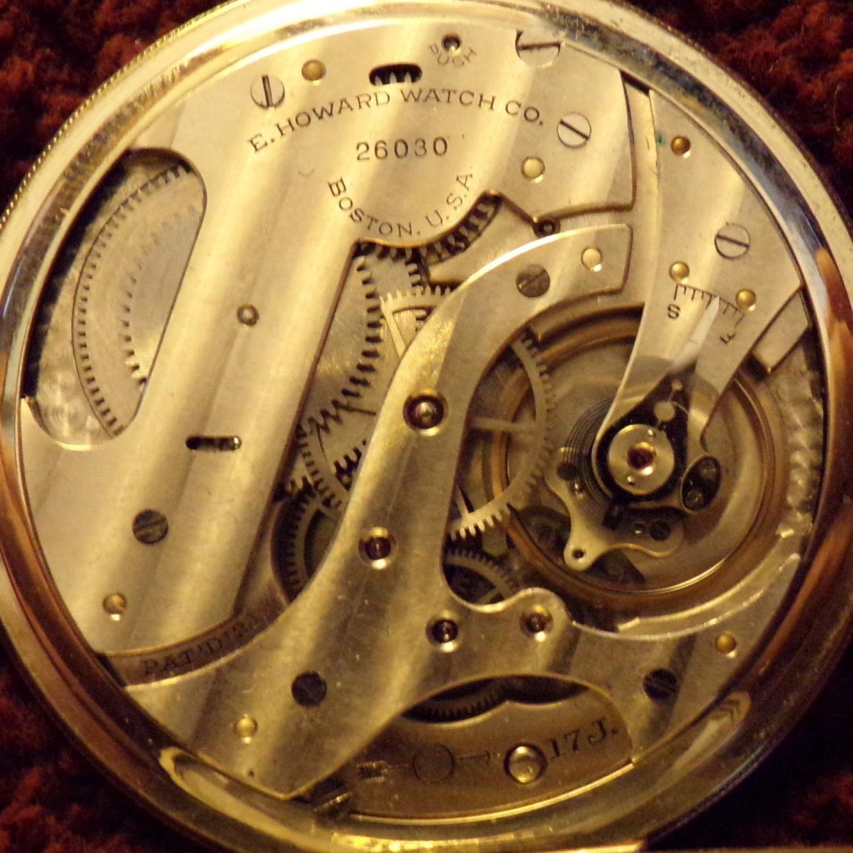 Image of E. Howard Watch Co. (Keystone) Series 12 #26030 Movement